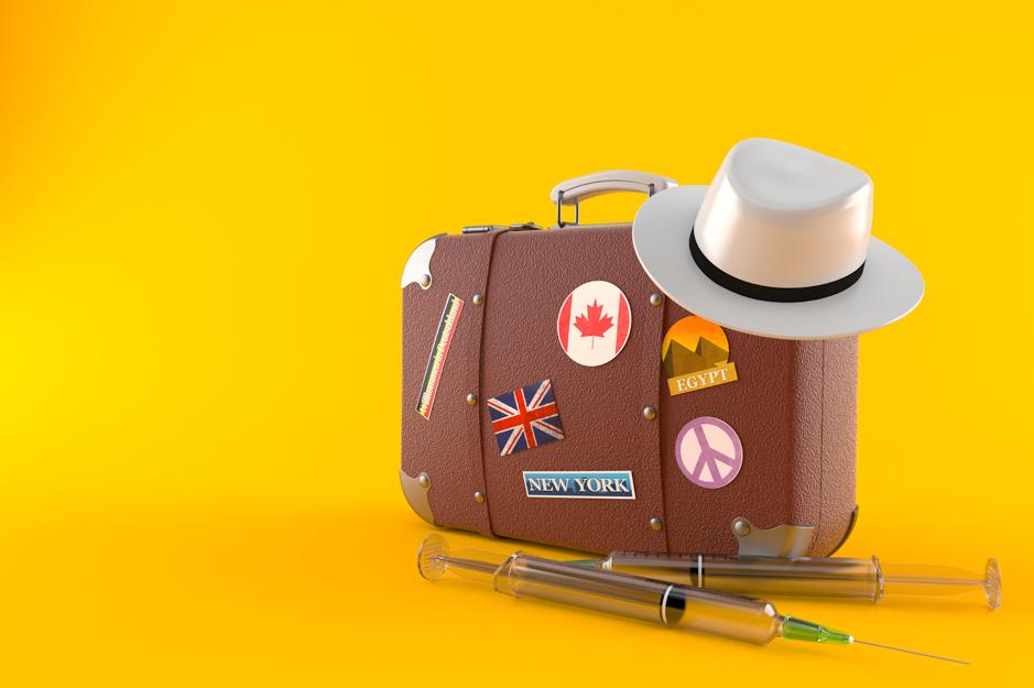 Suitcase Travel Vaccination